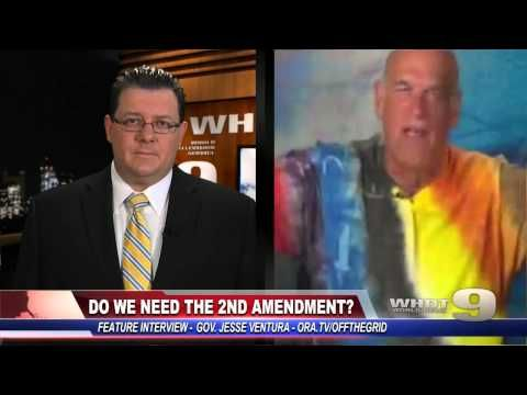 Jesse Ventura on the 2nd Amendment - http://thedailynewsreport.com/2014/02/18/top-stories/jesse-ventura-on-the-2nd-amendment/