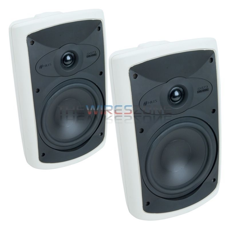 Niles Os7 3 White 2 Way 7 Indoor Outdoor Home Theater Speaker System Pair Niles Home Theater Speaker System Home Theater Speakers Outdoor Speakers