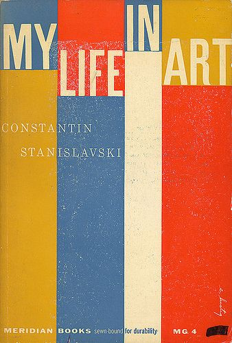 My Art Book Cover : Constantin stanislavski my life in art meridian books