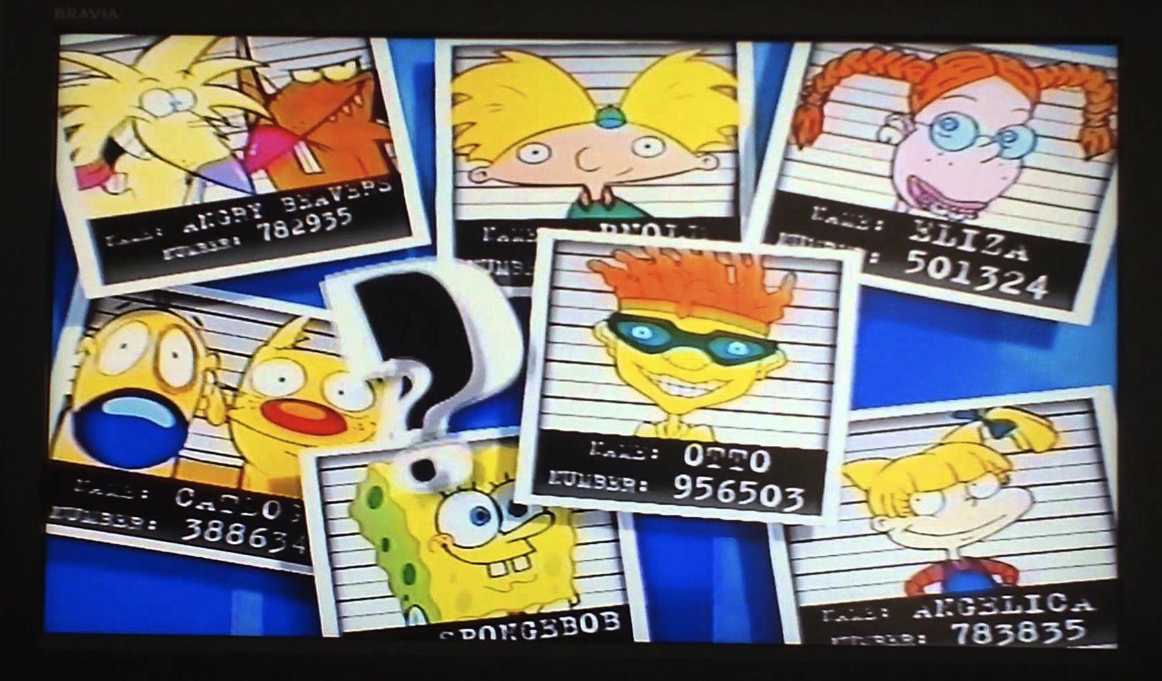 Norm & Daggett, Arnold, Eliza Thornberry, CatDog, Spongebob ...