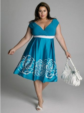 68a27b7c684 PLUS Trend Of The Day... Breezy Morning Dress From www.igigi.com ...