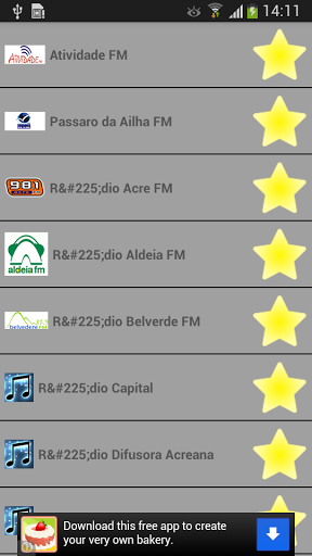 The Best Radio Ever .<p>Feature <br> - Best quality radio streams<br> - Progressive download<br> - Very low bandwidth consumption<br> - Many station and you can also suggest us to add more !!!<p>This app is a lightweight radio player with a lot of stations from Argentina. It's easy to use and really fast, it won't drain your battery <br>Here is the most SIMPLE radio player for you. Let be honest, if you are looking for a Radio Player it means you want to listen your favorites…