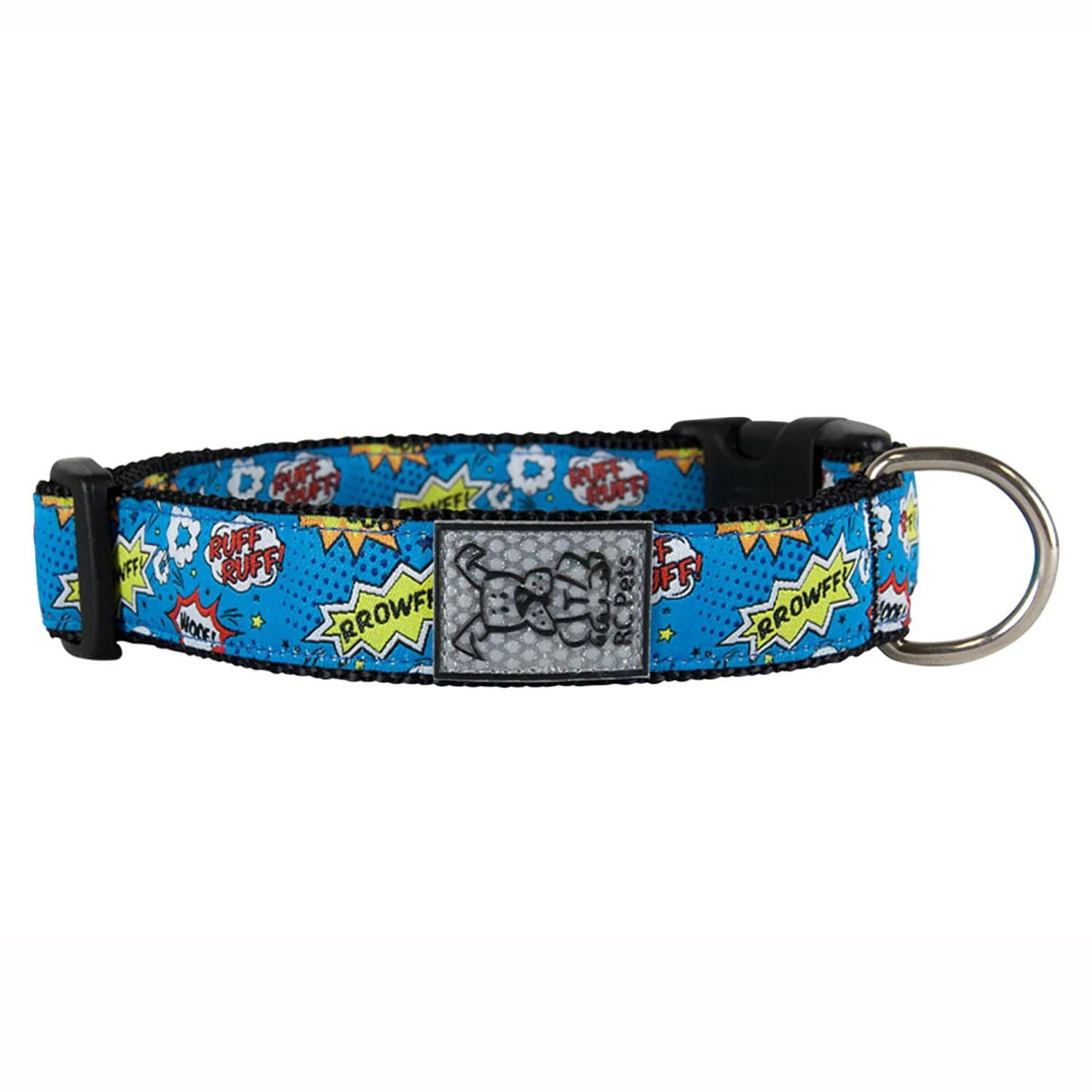 Comic Sounds Adjustable Dog Collar By Rc Pet Dog Clip Dog Collars Leashes Pets