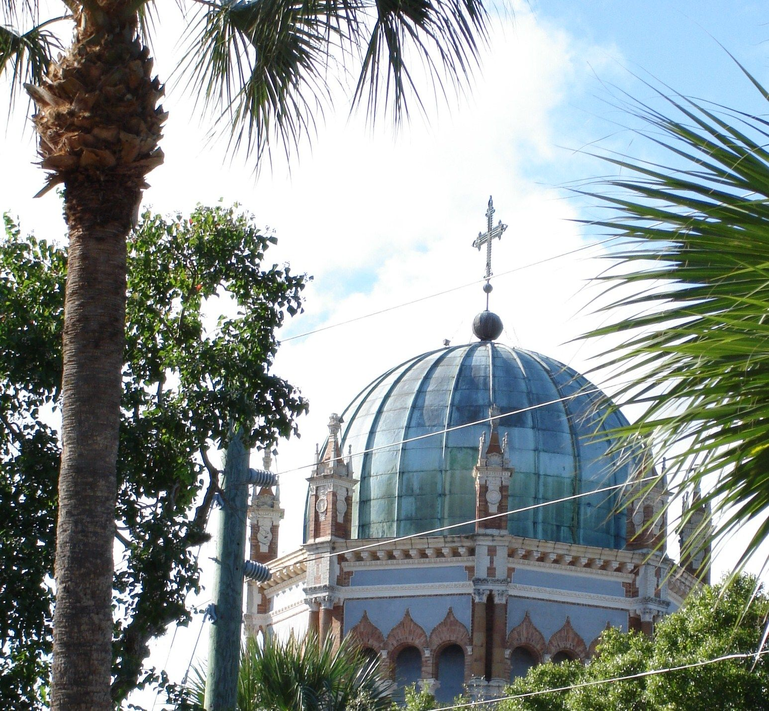 Can you imagine how many hours and the manpower it took to build this fabulous church in St Augustine, FL