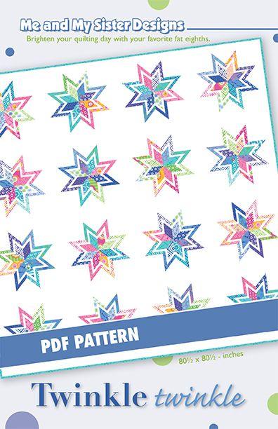 Image of Twinkle Twinkle PDF pattern