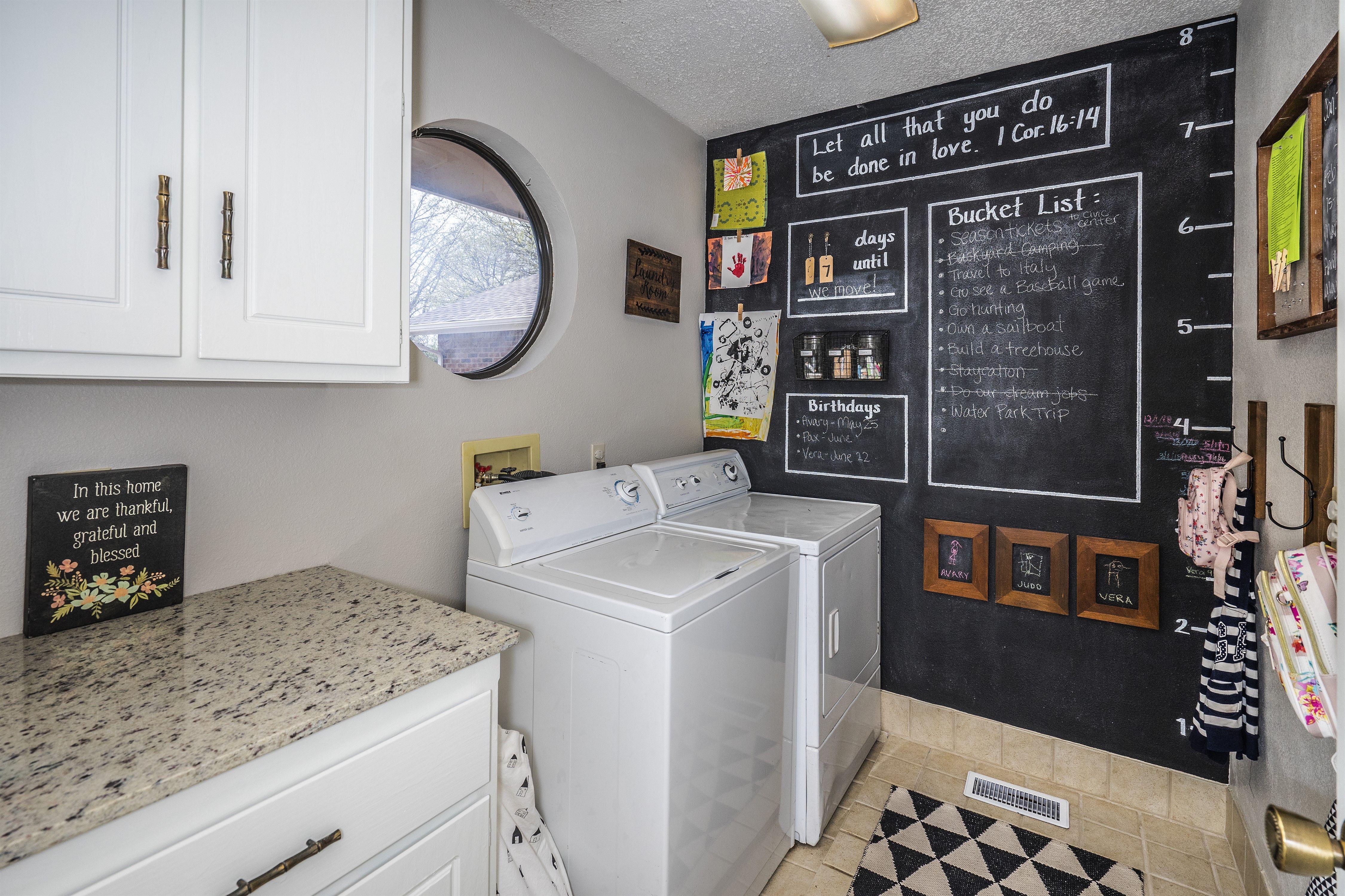 Laundry Mudroom Chalkboard Wall Mudroom Mudroom Laundry Room