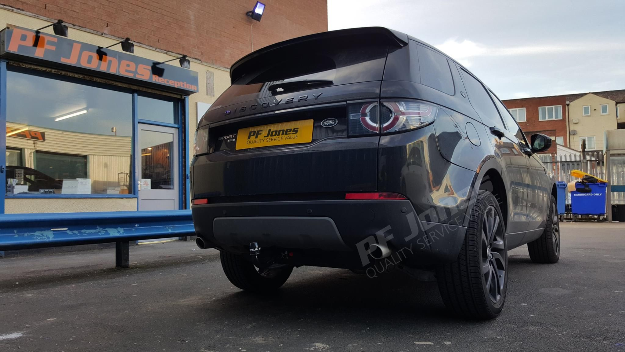 Land Rover Discovery Sport 2017 Fitted With A Westfalia Uk Ltd