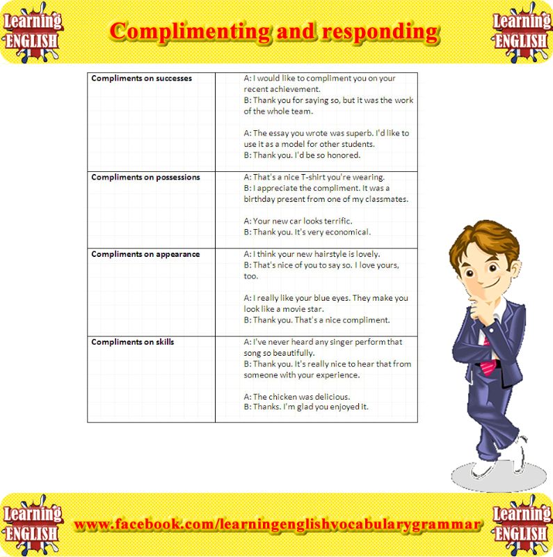 How to respond to compliments online dating