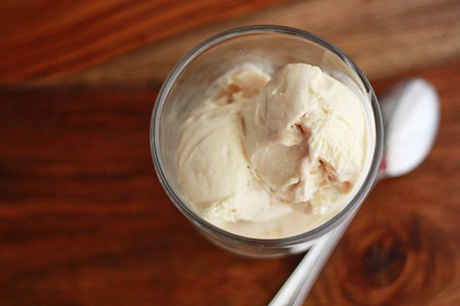 Salted Caramel.  Need I say more?!  I would buy an ice cream machine JUST for this recipe alone!