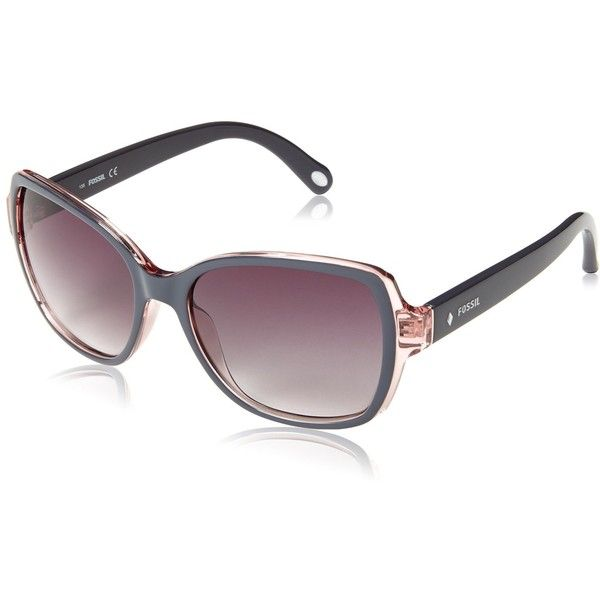 907997acf6 Fossil Women s FOS3004S Square Sunglasses ( 51) ❤ liked on Polyvore  featuring accessories