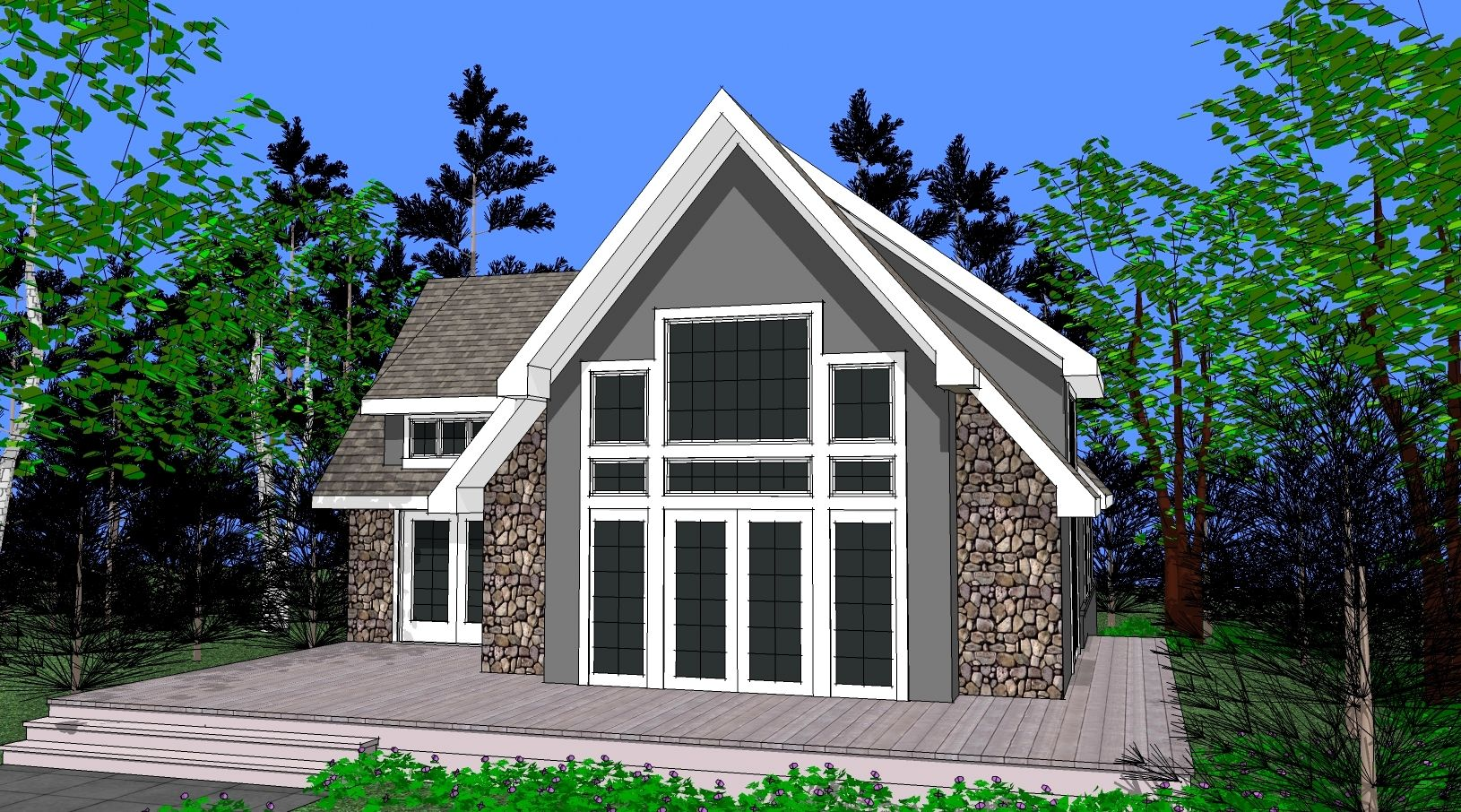 chalet home plans