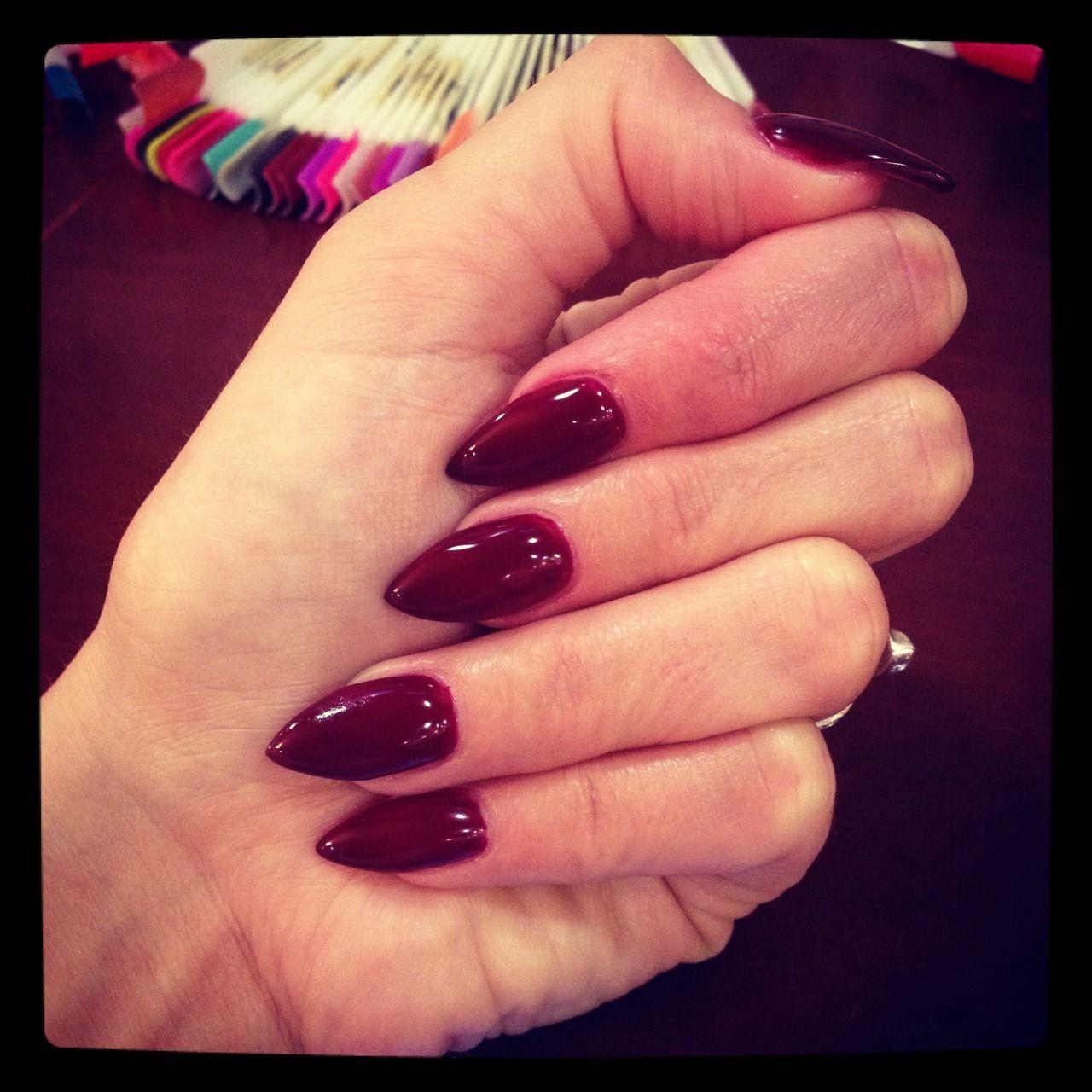 Shiree Scarlet — I got my vampire nails.   My Perfect Nails Baby ...