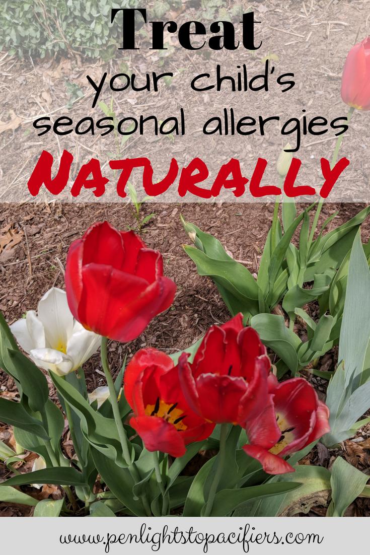 How To Treat Children's Seasonal Allergies Naturally | Child