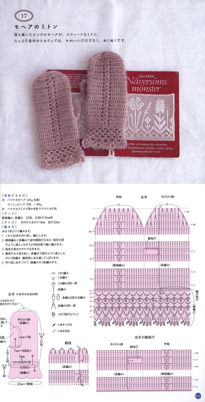 easy crochet gloves! These I can do!! | Crochet | Pinterest ...