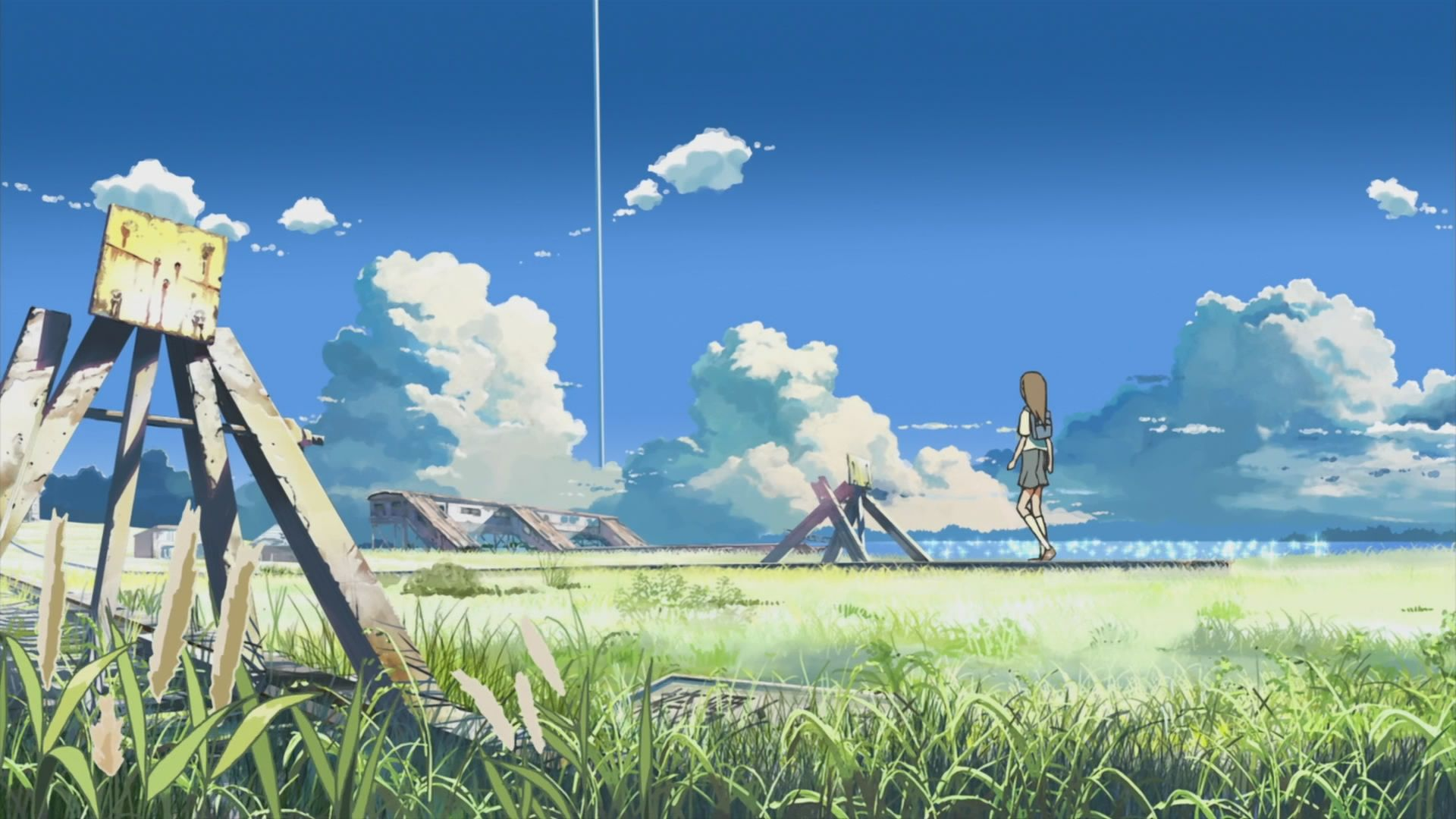 makoto shinkai art Поиск в Google Phong cảnh, Anime
