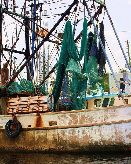 Professional Guaranteed House Painting Western Springs: An Old Shrimping Boat Docked At Tarpon Springs. Tarpon