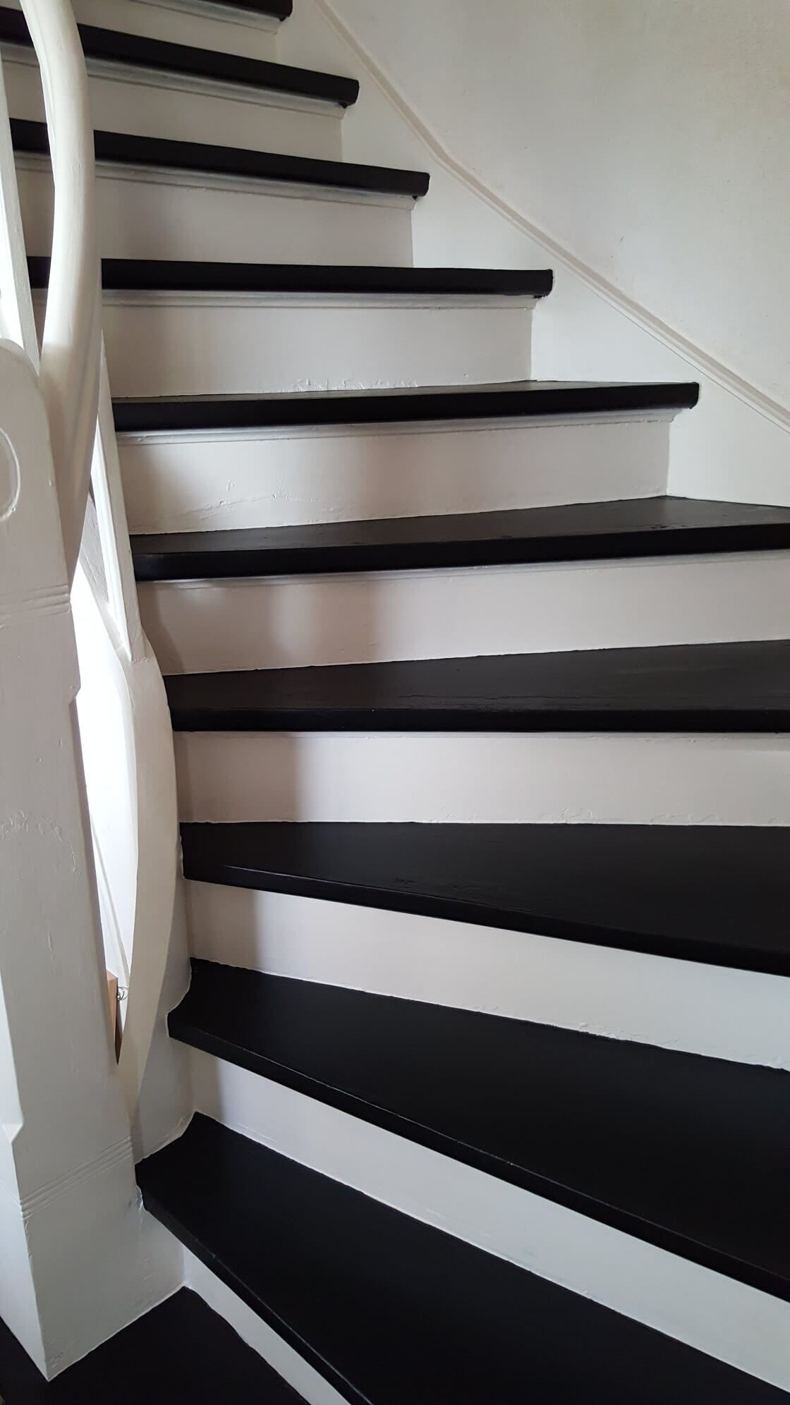 kreidefarbe treppe