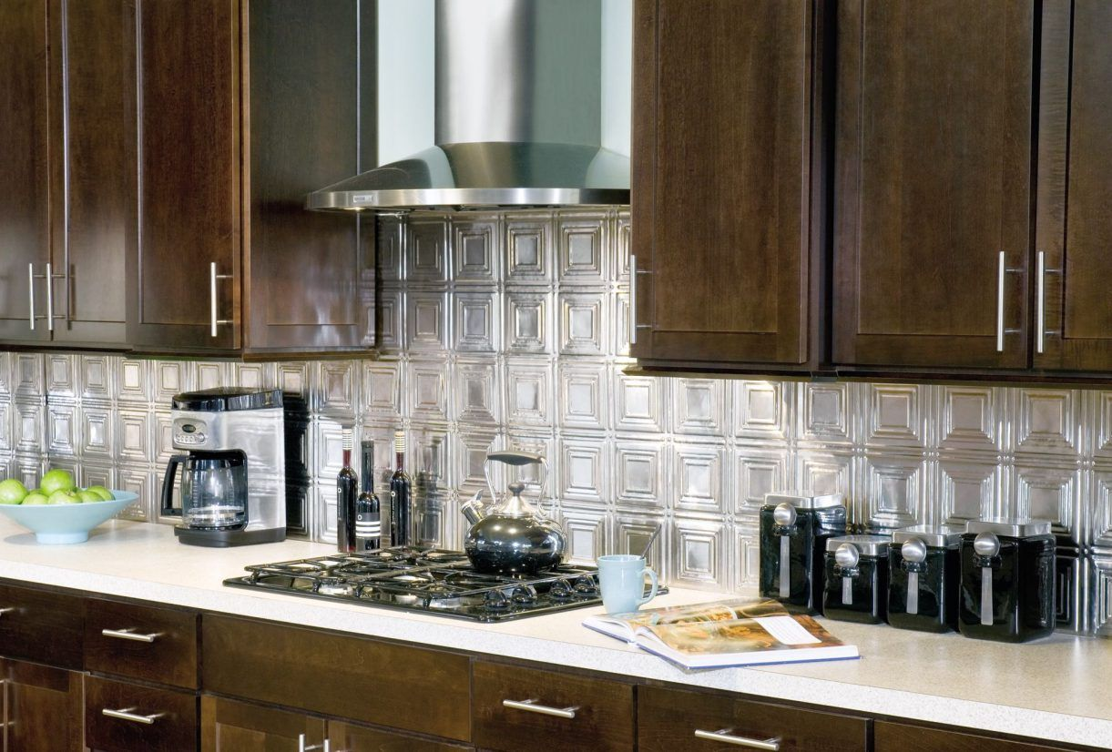 Metal Kitchen Backsplash Ideas Part - 20: The Definitive Guide To Metal Backsplash Tiles. Watch Videos, See Photos,  Learn To