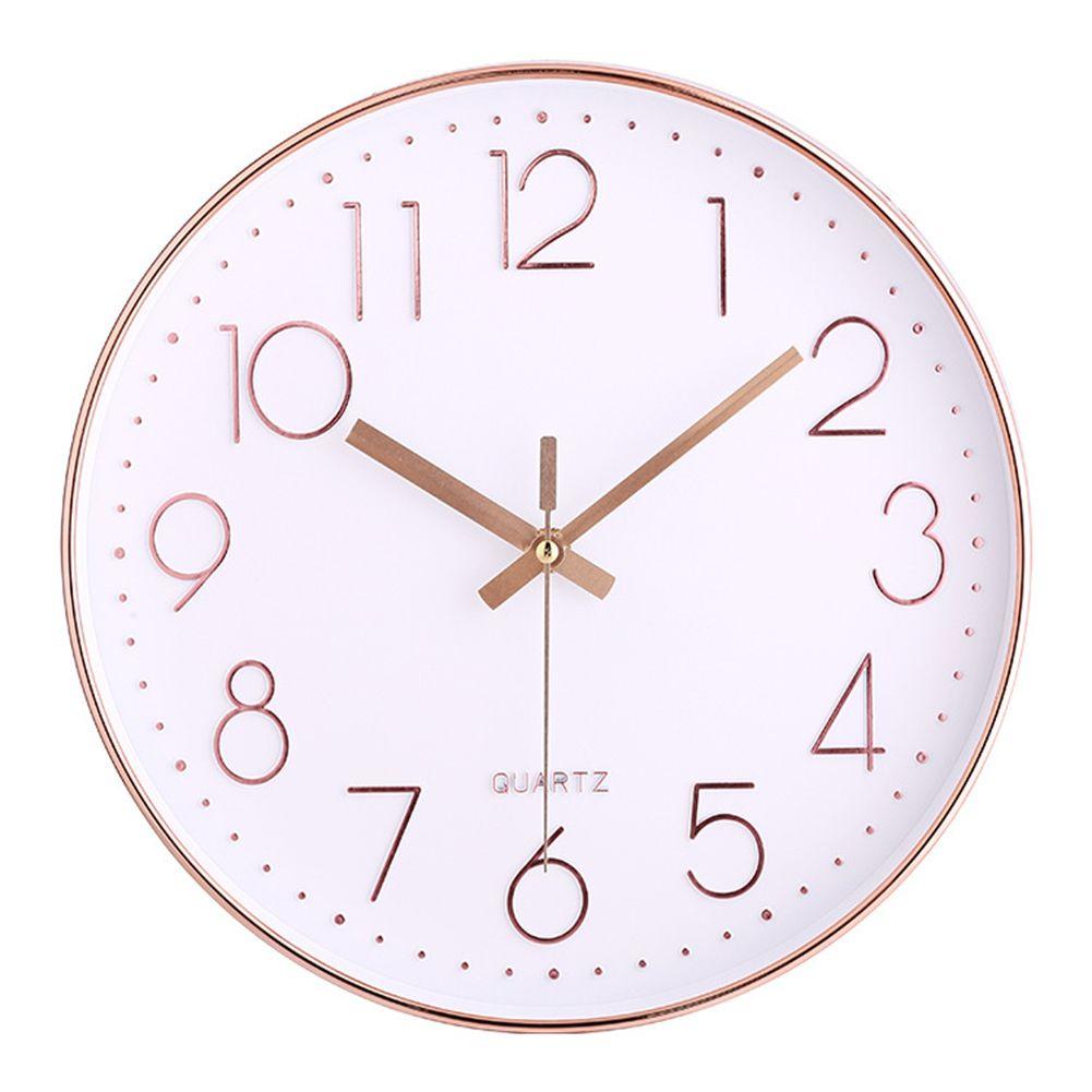 Rose Gold Quartz Wall Clock Price 32 55 Free Shipping Hashtag2