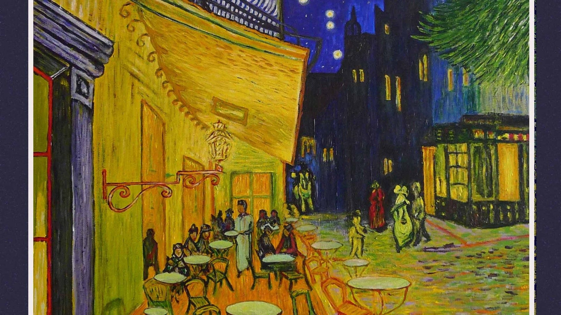 Wallpapers 60 1920x1080 van gogh cafe terrace at night cafe night van gogh computer f - Hd wallpaper van gogh ...