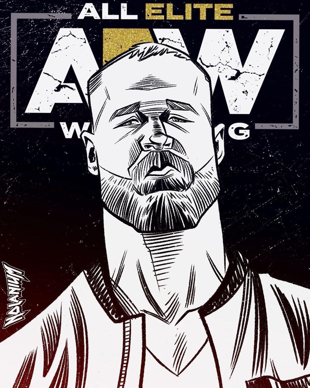 Jon Moxley Is All Elite Allelitewrestling Aewdon Doubleornothing Jonmoxley Mox Deanambrose Allelitewrestling Aew Wwe Wallpapers Wrestling Stars Wwf