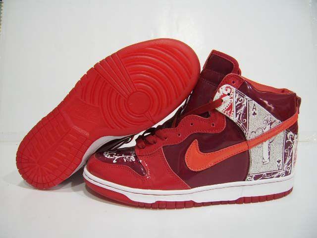 buy online 9beba f3ccb Nike Dunk High Premium Dontrelle Willis Red White