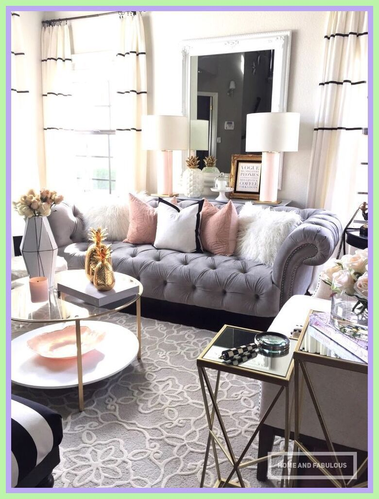 49 Reference Of Grey Sofa Pink Curtains In 2020 Couches Li