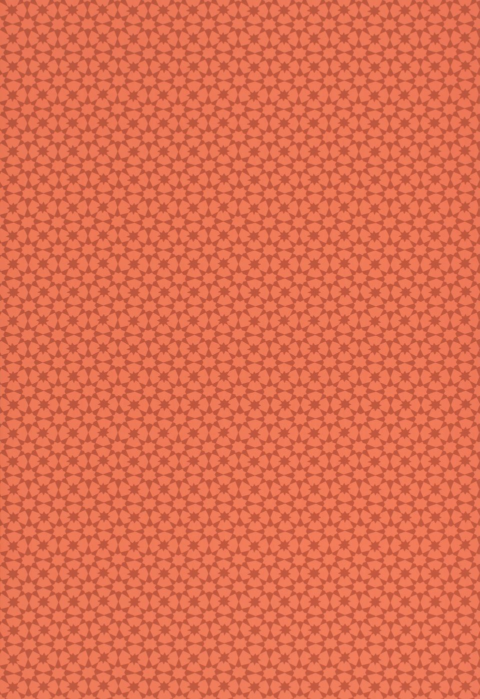 Wallcovering / Wallpaper | Medina in Persimmon | Schumacher