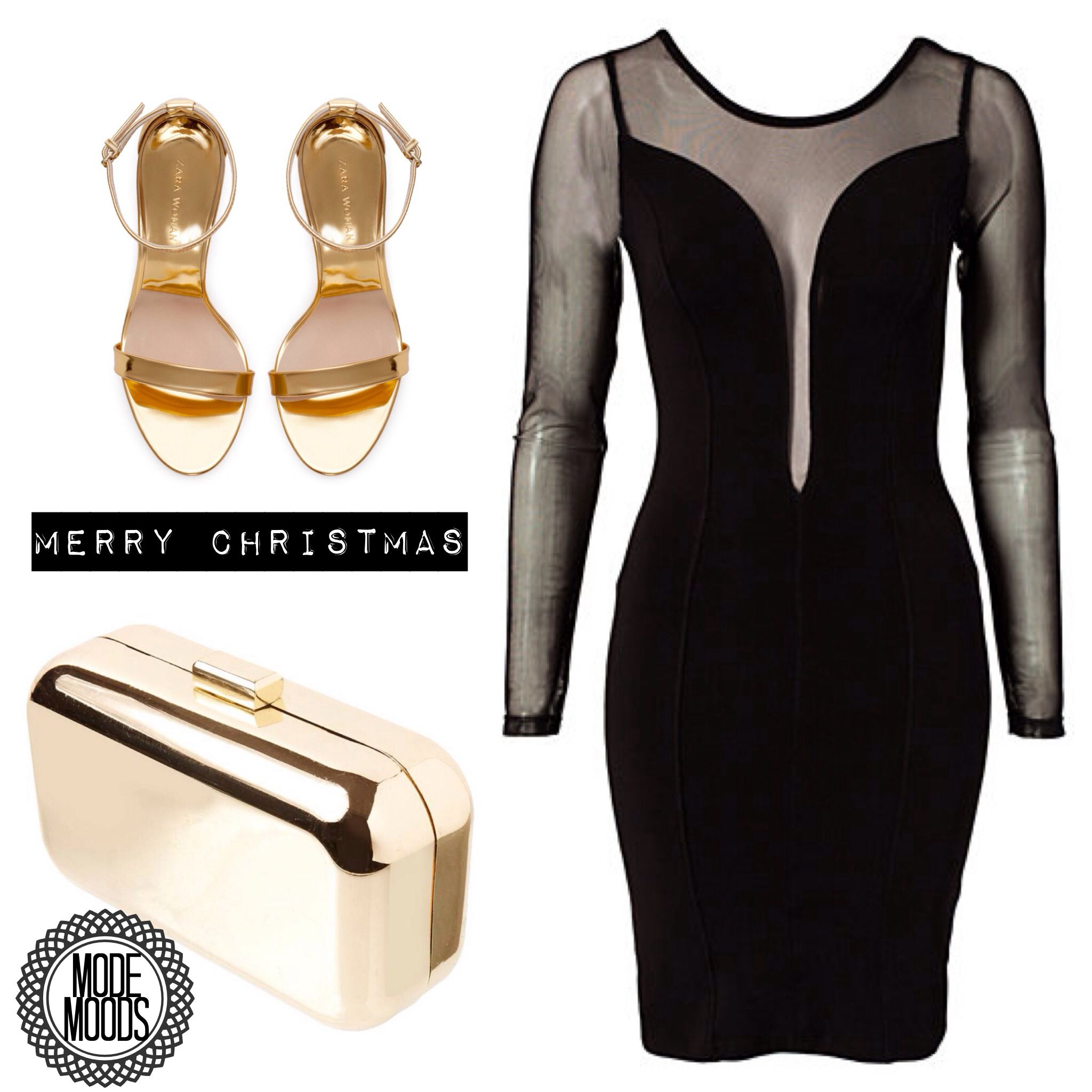 Merry #ModeMoods! #Christmaslook #kerstoutfit #fashion #mode #partydress