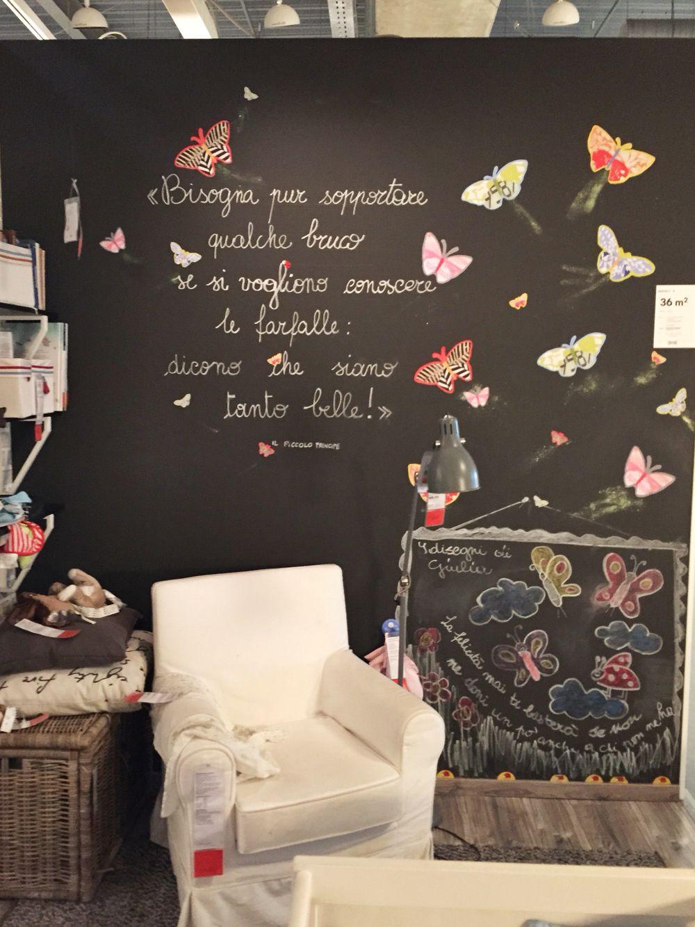 Dal negozio Ikea di Firenze... Idee e farfalle!