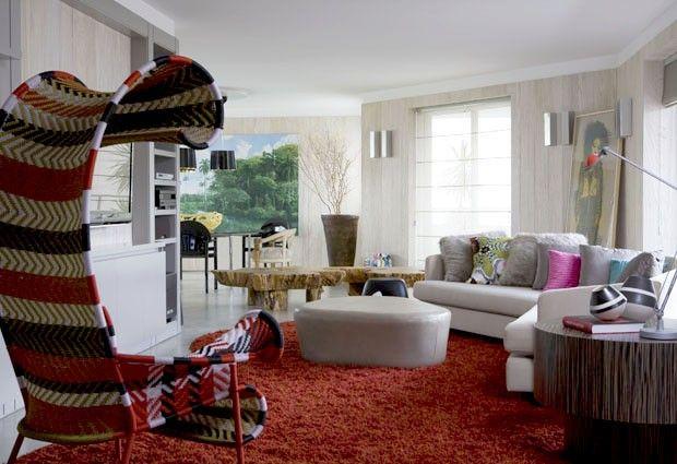 Muito design e cores ousadas Residência aposta em contrastes surpreendentes