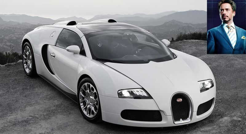 2 Million Dollar Car, Bugatti Veyron Bugatti veyron