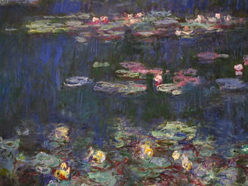 Claude Monet.Water Lilies.
