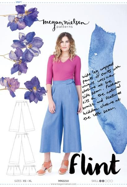 Flint pants and shorts   Schnittmuster und Inspiration