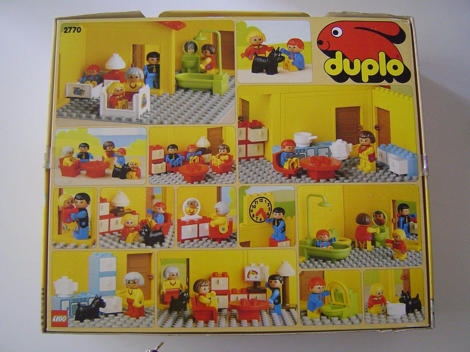 lego duplo 2770 haus inklusive m bel 58 teile. Black Bedroom Furniture Sets. Home Design Ideas