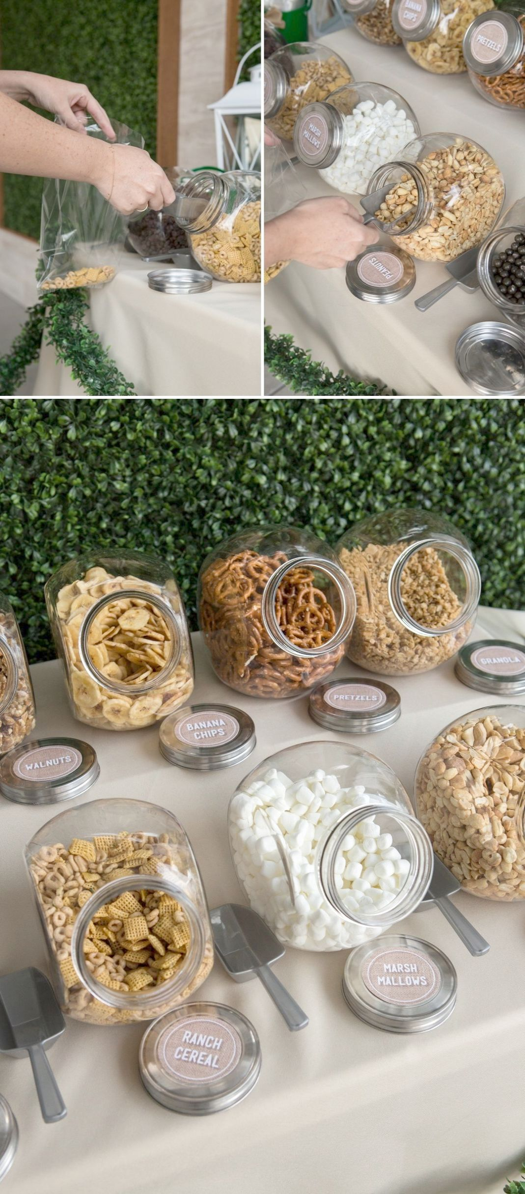 Check It Out Unique Wedding Favor Ideas Philippines Exceptional Wedding Trail Mix Bar Diy Wedding Food Diy Trail Mix Bar