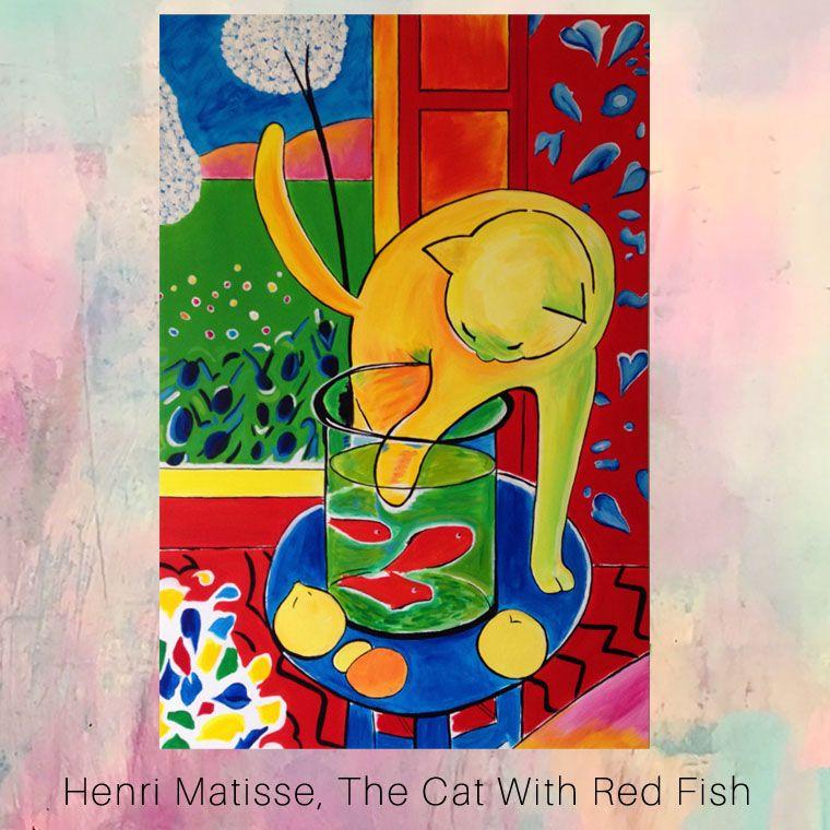 HENRI MATISSE PUSSY FAUVISM ART GICLEE PRINT FINE CANVAS