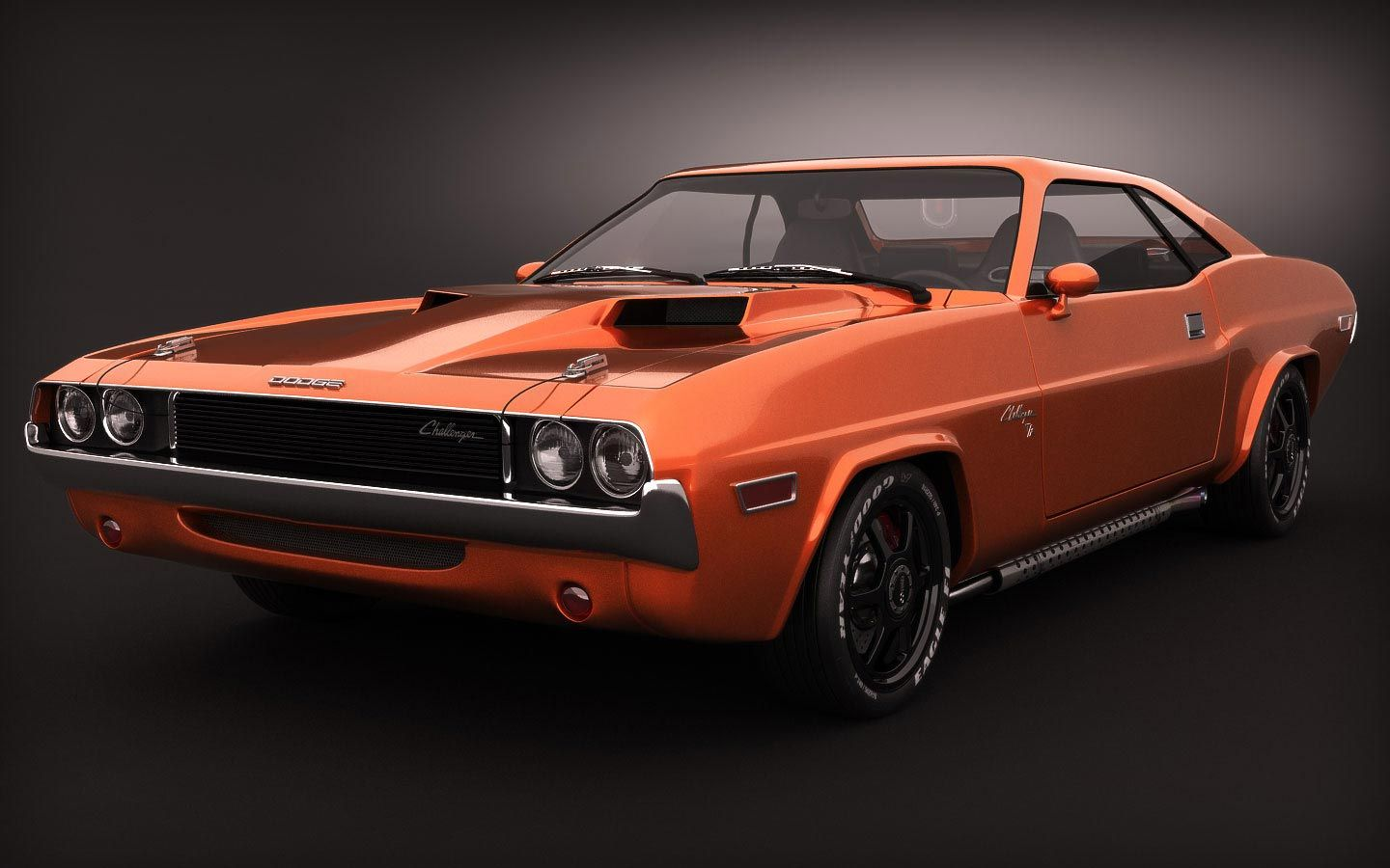 Old Muscle Cars | Classic Muscle Cars | RIP3D – 3D Architectural ...