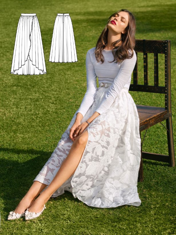 Marry Me: 5 New Women\'s Sewing Patterns | Kleidung