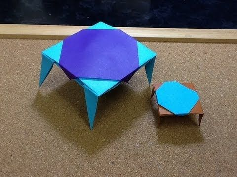 Daily Origami Dollhouse Furniture