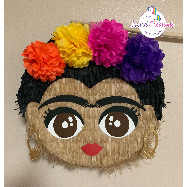 Frida Kahlo Pinatas Pinata Frida Kahlo Fiesta Mexicana