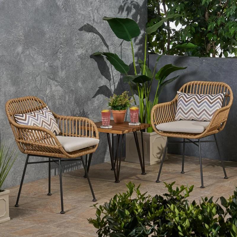 patio chairs small balcony decor