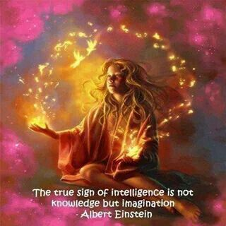How many days a week do you use your imagination?