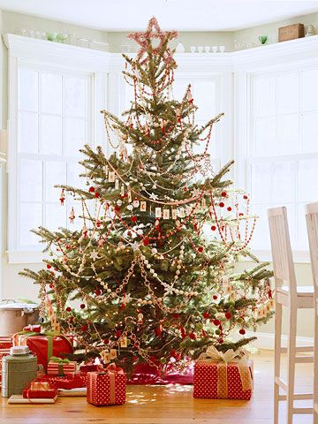 Christmas Garland and Swag Decorating Ideas Christmas tree - simple christmas decorating ideas