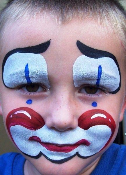 cute clown faces - 433×600