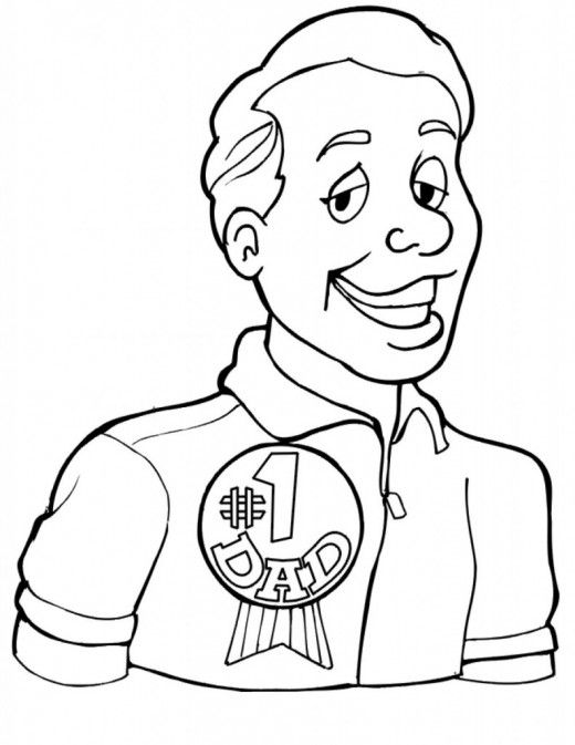 Father S Day Coloring Pages Fathers Day Coloring Page Fathers