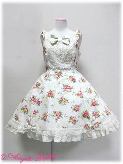 angelic pretty ローズアフタヌーンジャンパースカート