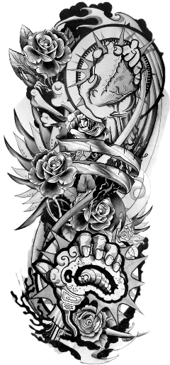 View And Download Hd Tattoo Freetoedit Tattoo Sleeve Designs Png Image For Free The Image R Full Sleeve Tattoos Full Sleeve Tattoo Design Half Sleeve Tattoo