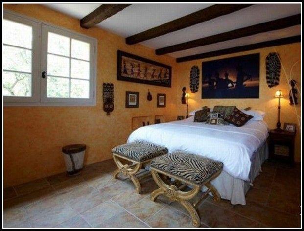 Schlafzimmer Afrika Stil