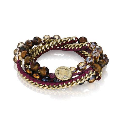 Bead + Ribbon Multi-Wrap Bracelet Shop here 24/7: https://www.chloeandisabel.com/boutique/cuteclassy